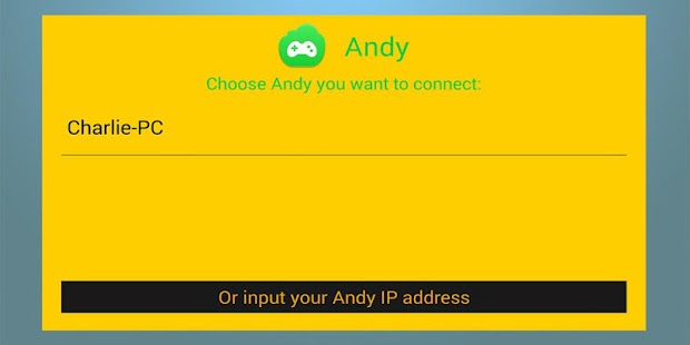 Andy Remote Control Screenshot