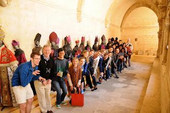 Photo: Zombie bishops at Montmajour