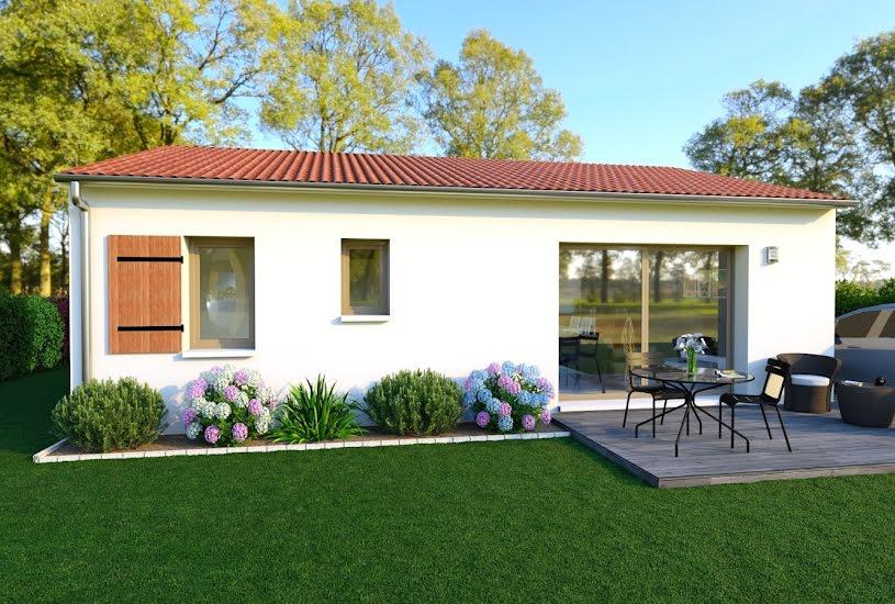 Vente Terrain + Maison - Terrain : 590m² - Maison : 70m² à Castelnau-sur-Gupie (47200)