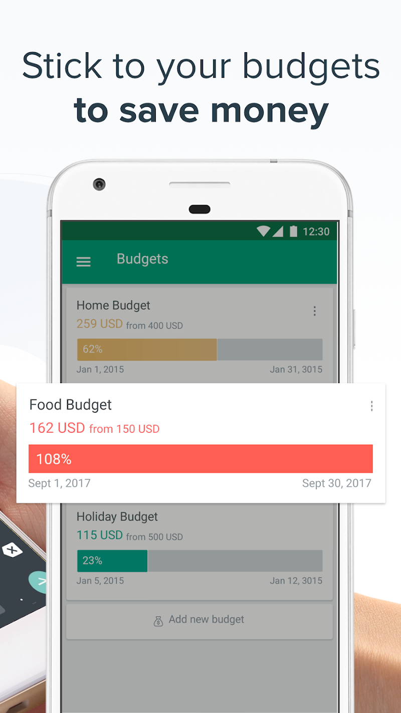 Spendee - Budget & Money Tracker with Bank Sync Screenshot 4