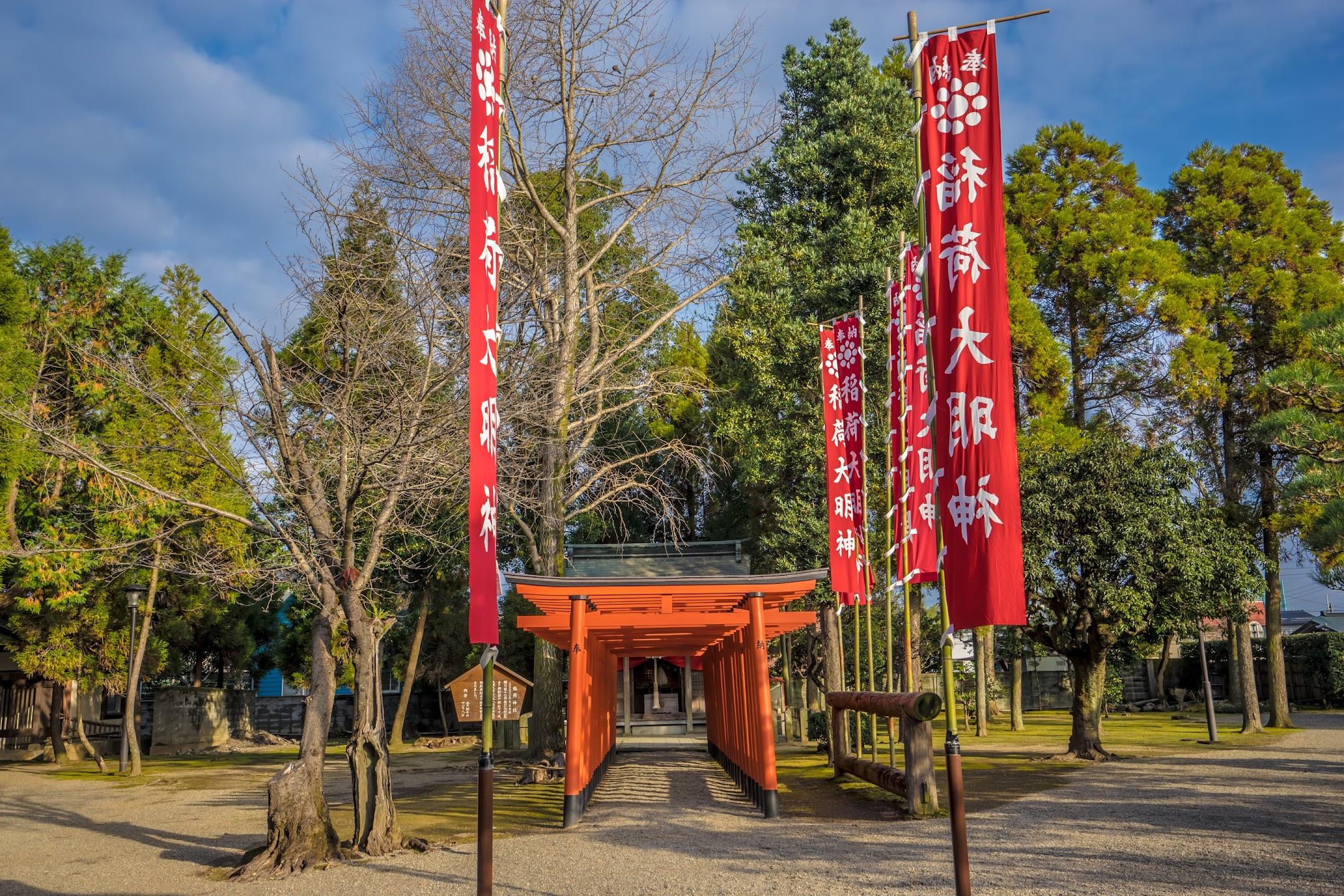 水前寺成趣園 稲荷神社1