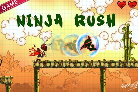 Ninja Rush HD screenshot 1