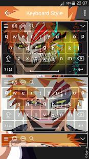 Keyboard for Bleach Ichigo Kurosaki - náhled