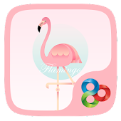 Flamingo  GO Launcher Theme