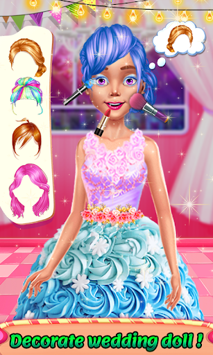 Wedding Doll Cake Decorating 3.3 screenshots 6
