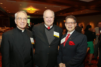 Photo: Rev. Oliver Williams, Dr Kenneth Goodpaster, Dr. Dominic Aquila