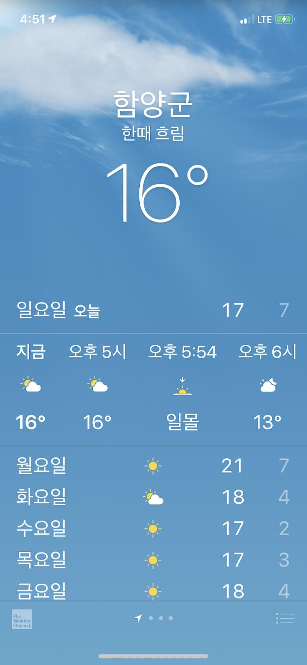 함양균 날씨