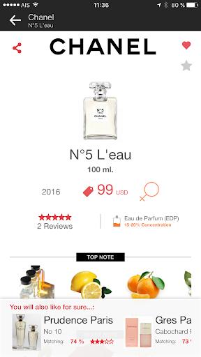Perfumist Perfumes Advisor 3.0.3 screenshots 5