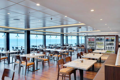 msc-meraviglia-buffet.jpg - Enjoy the view and munch at your leisure at the buffet on MSC Meraviglia.