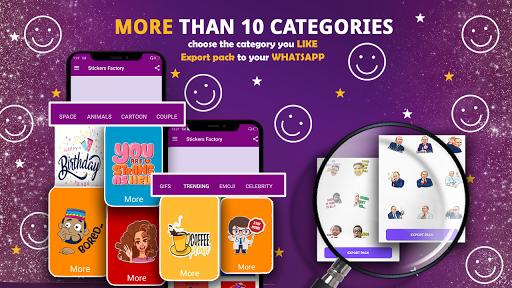 Sticker Factory & Maker for Whatsapp 2020 screenshots 2