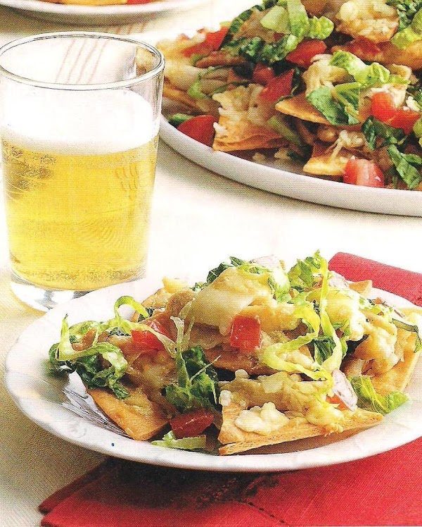 Caesar Salad Nachos With Rotisserie Chicken Recipe