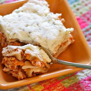 Turkey Picante Lasagna Gluten Free.