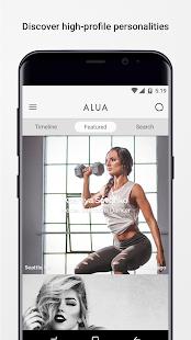 ALUA Messenger - náhled