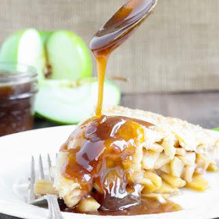 Apple Butterscotch Pie