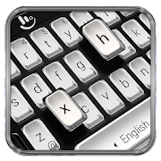 Black White Keyboard Theme