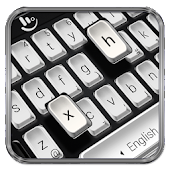 Black White Keyboard Theme Android APK Download Free By Love Cute Keyboard