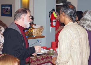 Photo: Peter and Murthy chatting.jpg