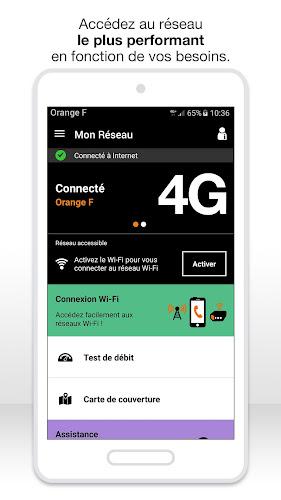 Mon Réseau Android App Screenshot