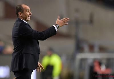 Roberto Martinez espère des amicaux intéressants l'année prochaine