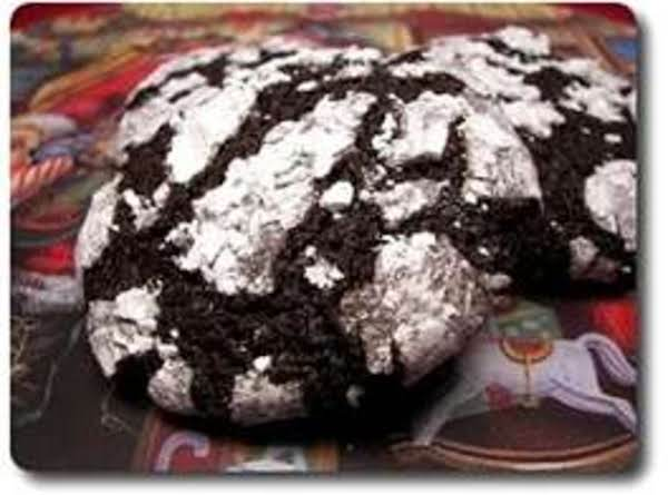 Mocha Espresso Crinkle Cookies Recipe