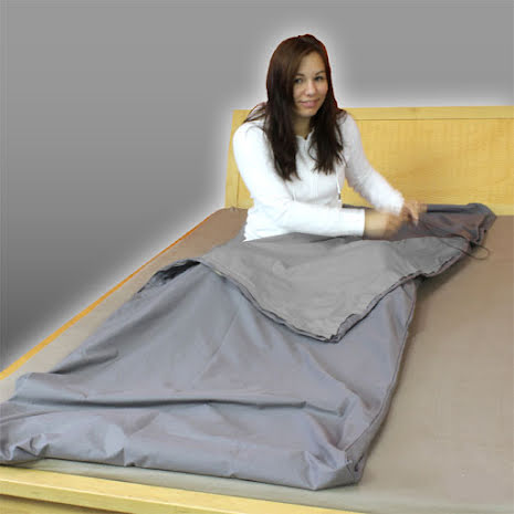 Sovsäck Steel-Grey