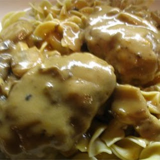Scrumptious Salisbury Steak in Mushroom Gravy