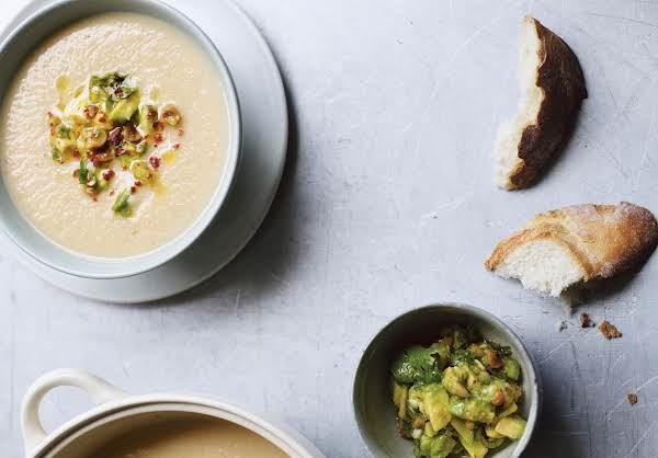 Cauliflower Caraway Potato Soup Recipe