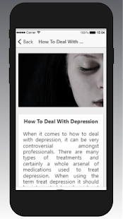 App How To Deal With Depression APK for Windows Phone