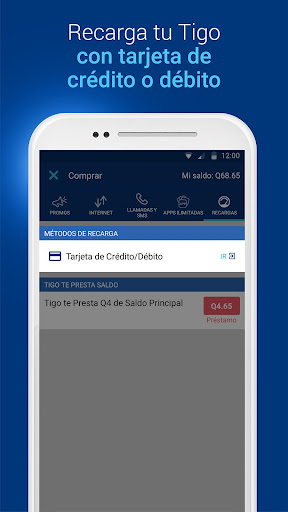 Download Tigo Shop: Consulta y compra Paquetigos prepago For PC 2