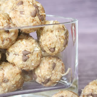 No-Bake Almond Joy Snack Bites.