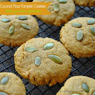 Pumpkin Coconut Flour Cookies