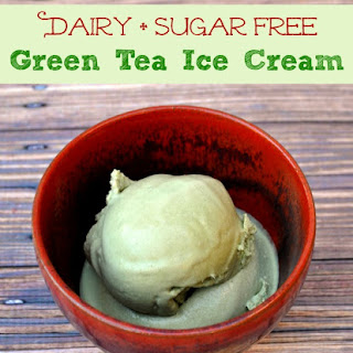 Dairy + Sugar Free Green Tea Ice Cream