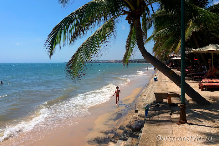 Море в Муйне, отдых на юге Вьетнама