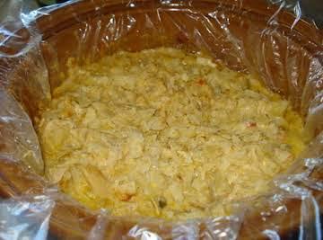 Smoky Chicken & Cheesy Potato Hotdish