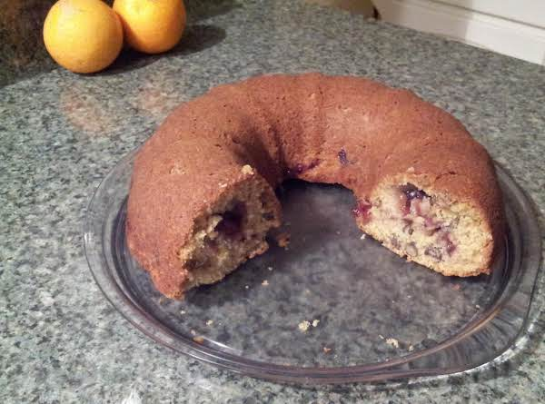 Orange Cranberry Nut Cake Recipe