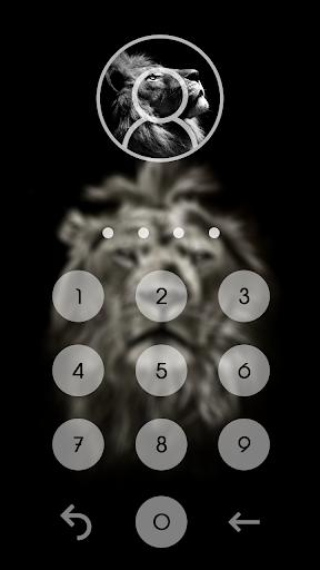 Lion King CM Locker Cool Theme screenshot 2