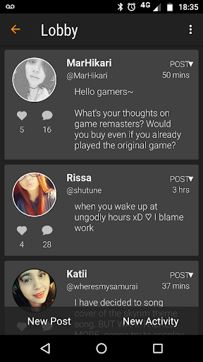 Gamester - Meet Gamers, Discover Video Games screenshot