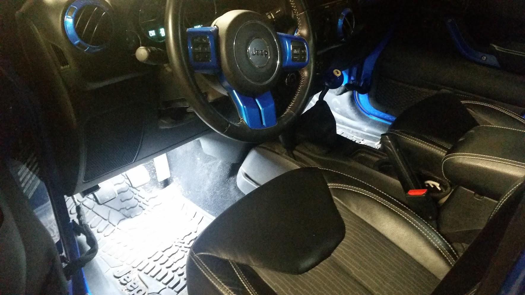 Led Interior Lights Jeep Wrangler Forum