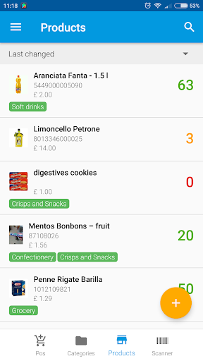WAMA cloud warehouse inventory management 2.4.2 screenshots 1