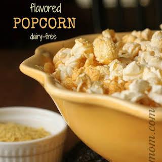 """""""Dorito""""-Flavored Popcorn (dairy free)."""