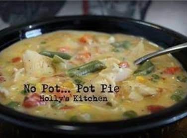 No Pot Chicken Pot Pie Recipe