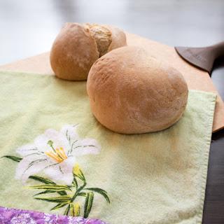 Honey Coriander Manna Bread.