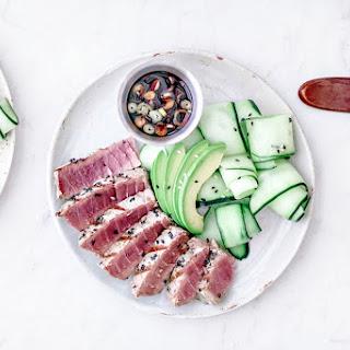 Sesame Crusted Ahi Tuna Steak Recipe
