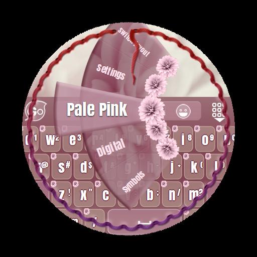 淡いピンク GO Keyboard 個人化 App LOGO-硬是要APP