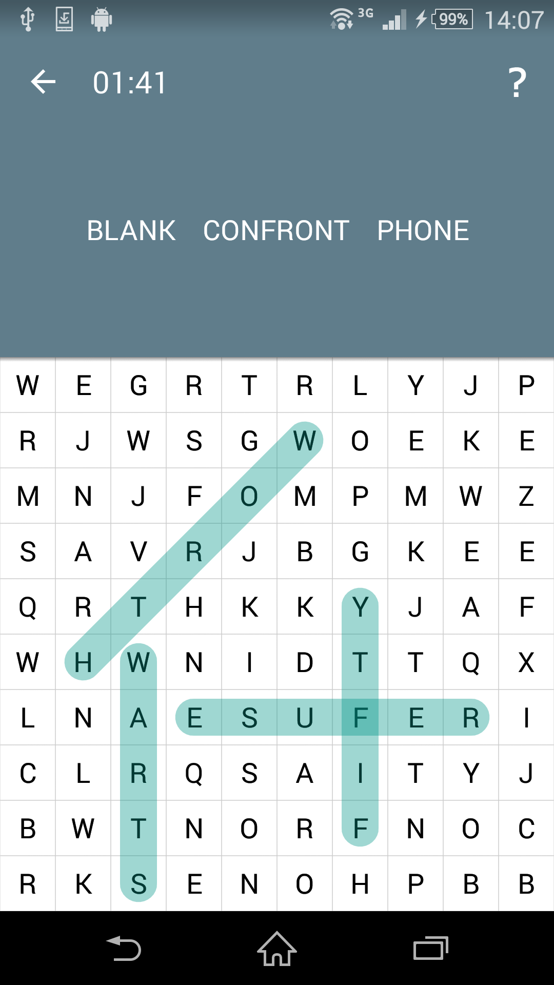 Word Search screenshot #2