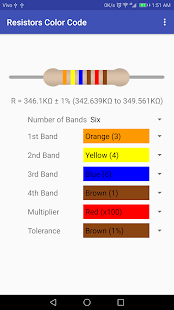 Resistor Color Code - náhled