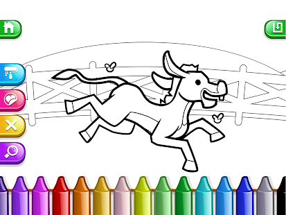 my coloring book kids cute drawing game screenshot thumbnail