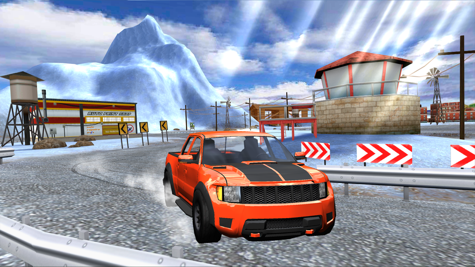 Extreme SUV Driving Simulator- screenshot
