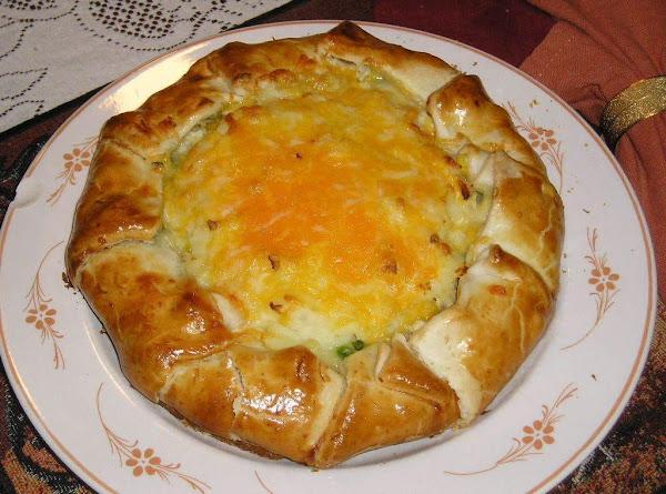 Rustic Chicken Vegetable Pie Recipe