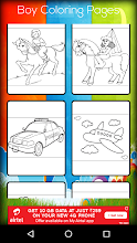 Download Boy Coloring Game Free